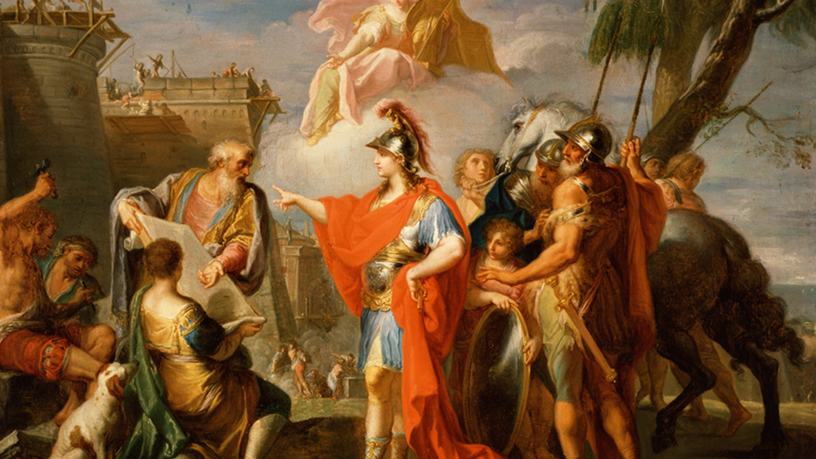 Alexander The Great Trading - HD Wallpaper