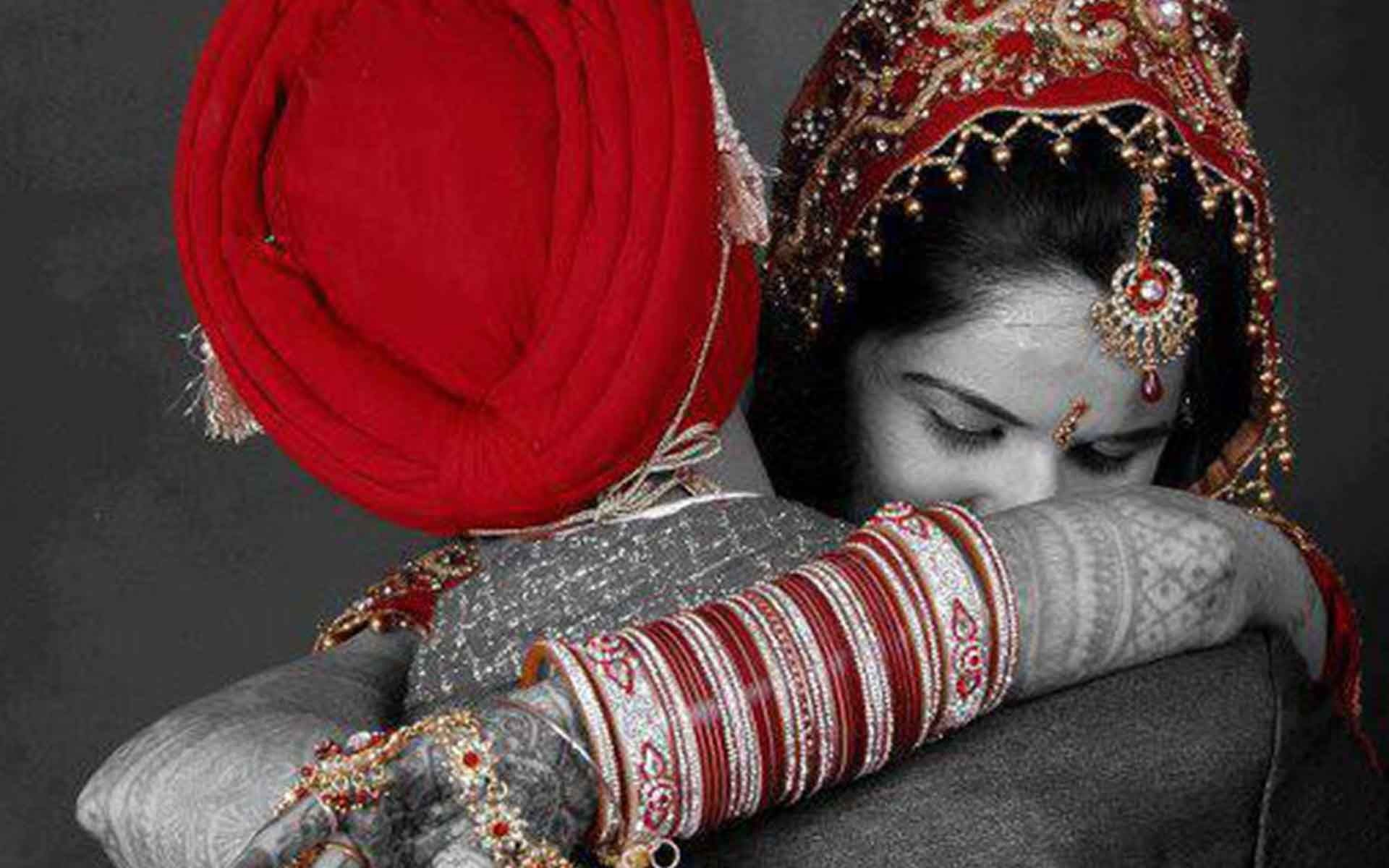 sweet punjabi wedding couple wallpaper couples pic punjabi hd 1920x1200 wallpaper teahub io teahub io
