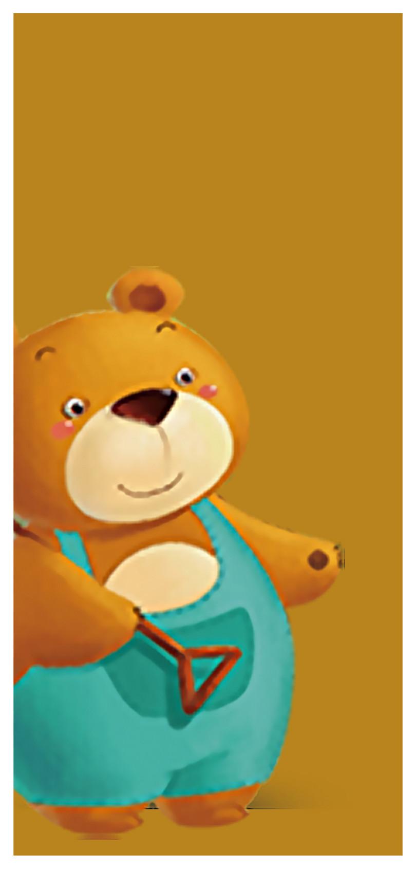 Kartun Beruang Wallpaper Ponsel - Teddy Bear - HD Wallpaper