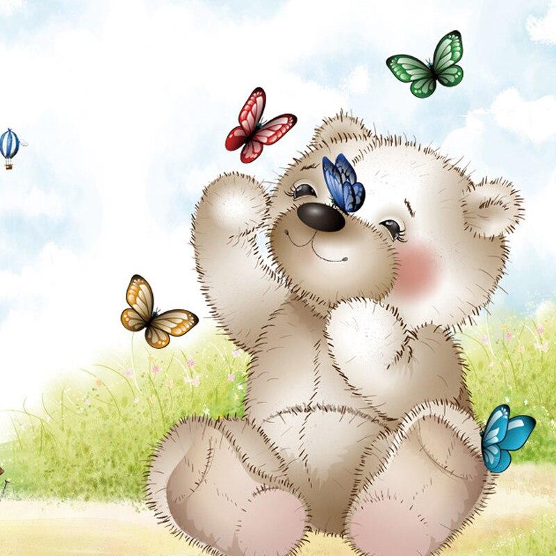 Gambar Kartun Wallpaper Beruang - HD Wallpaper