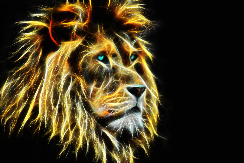 Lion, Muzzle, Background, 3d - Lion Quotes Success - HD Wallpaper