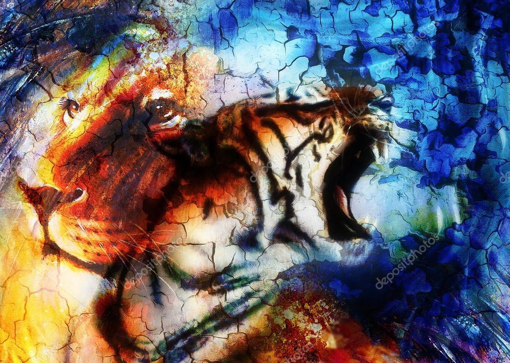 Colors Abstract Portrait - HD Wallpaper