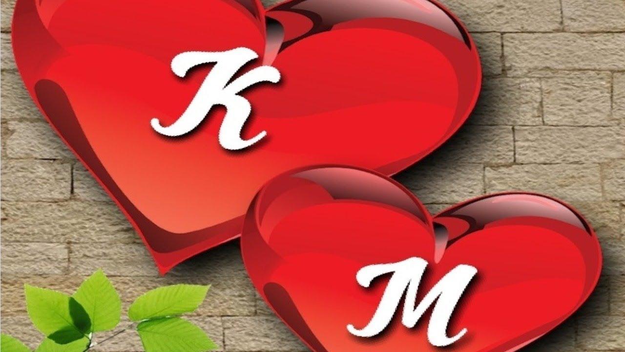 M Love K Name 1280x720 Wallpaper Teahub Io