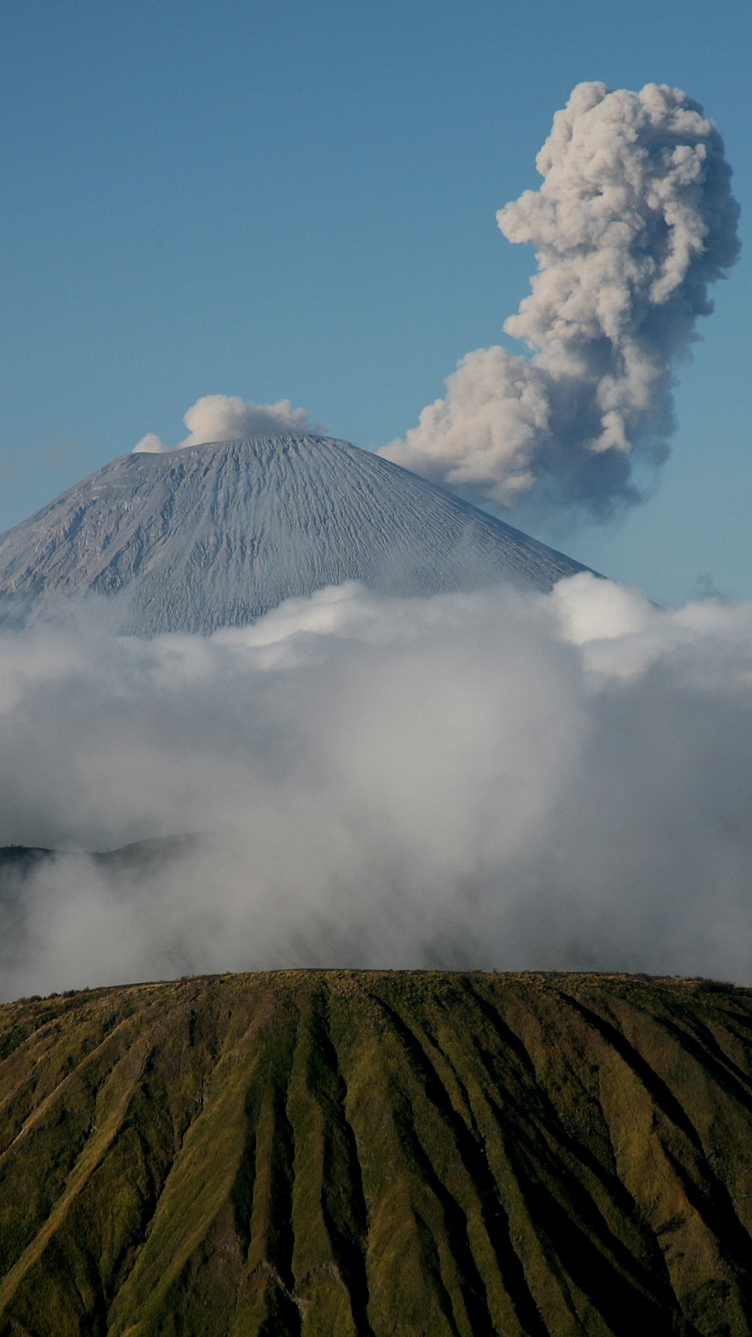 Wallpaper Hp Gunung Semeru : Mount Bromo Hd Nature 4k ...