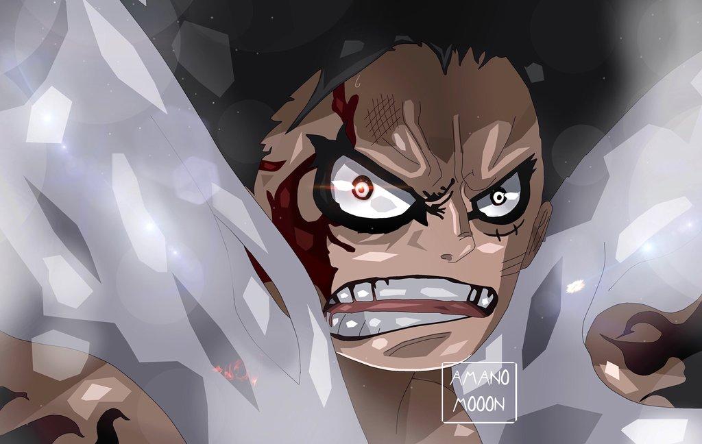 Luffy Snake Man Face 1024x648 Wallpaper Teahub Io