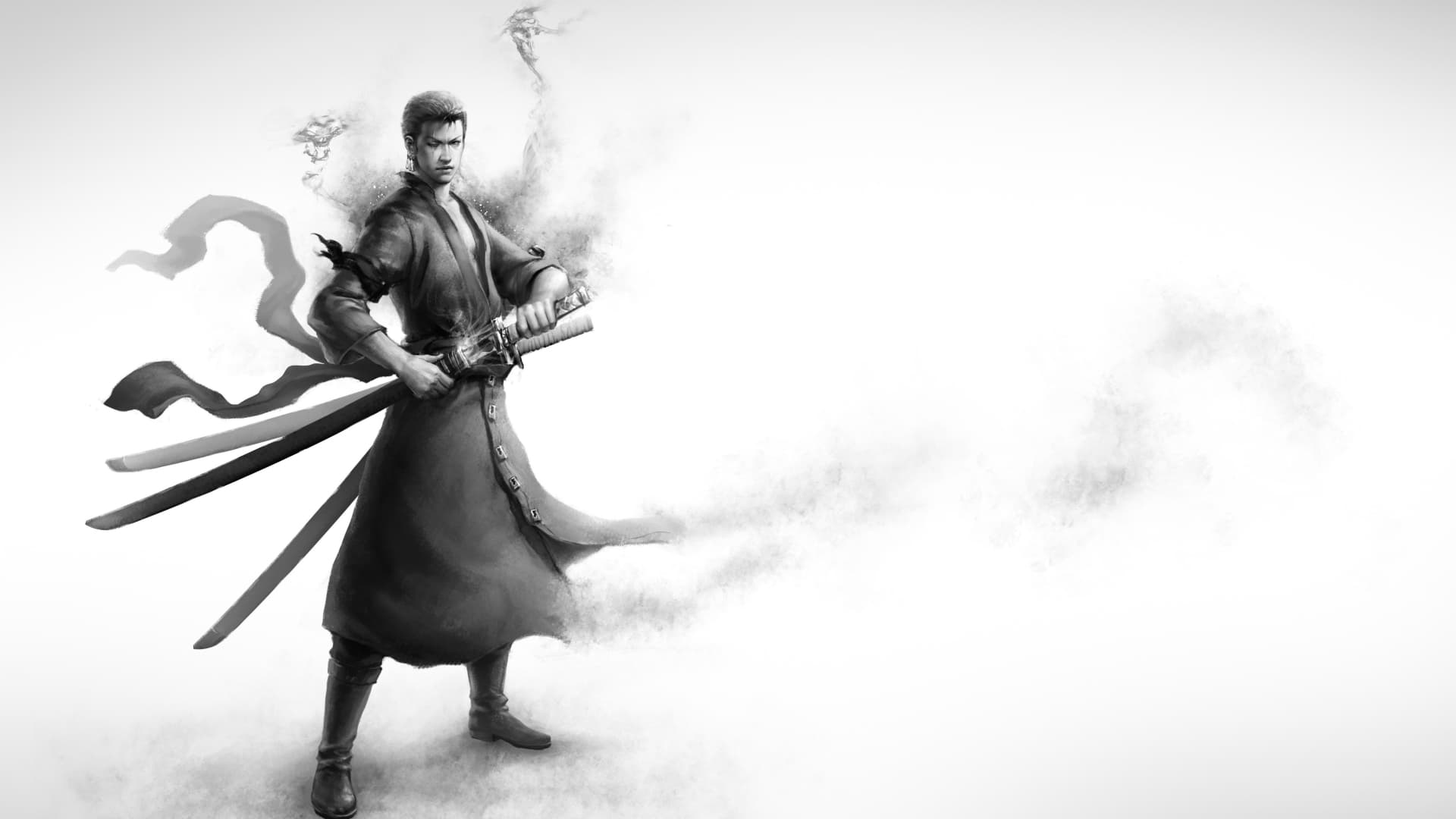 Zoro Black And White 1920x1080 Wallpaper Teahub Io