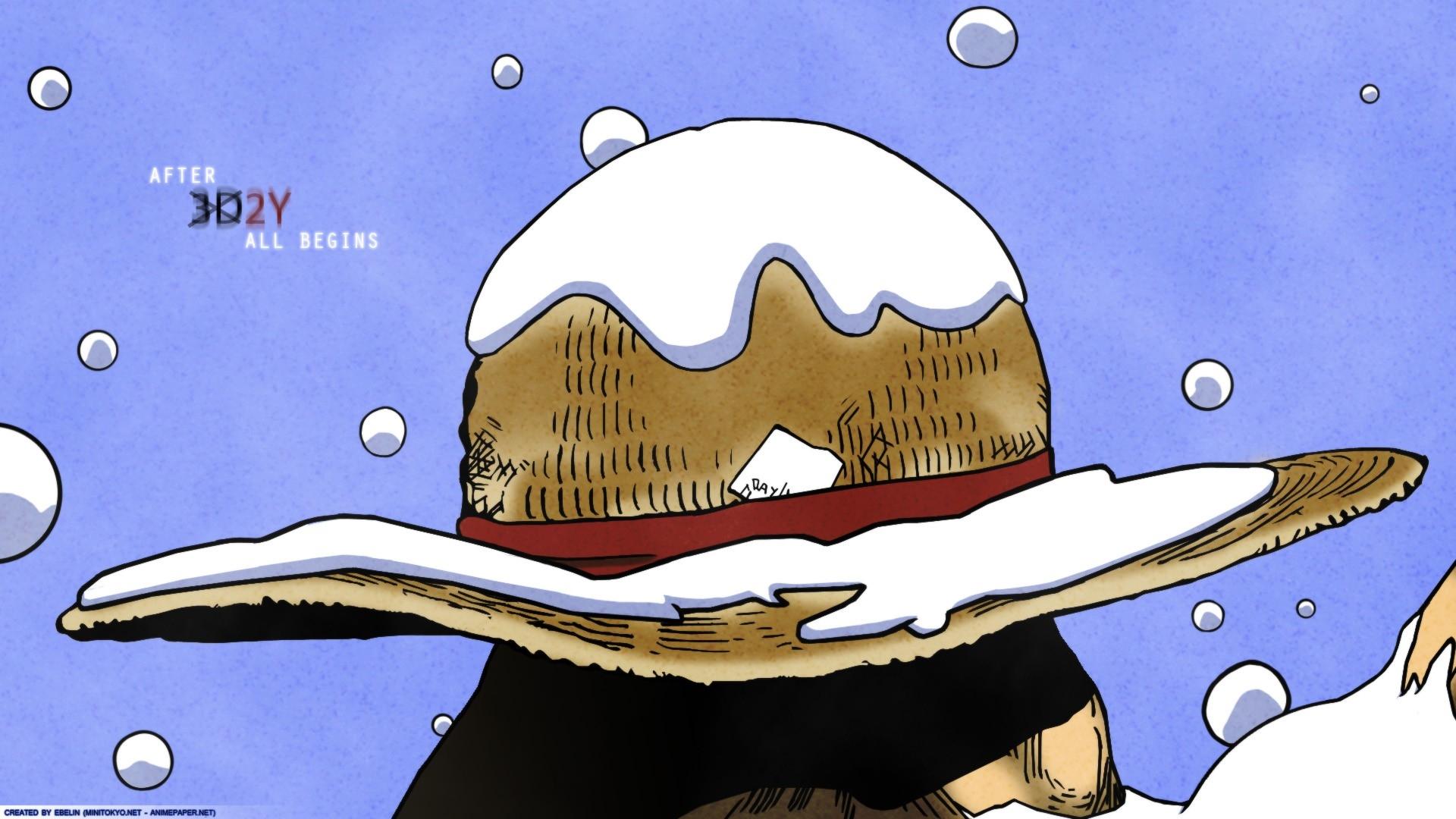 One Piece Wallpaper Straw Hat - HD Wallpaper