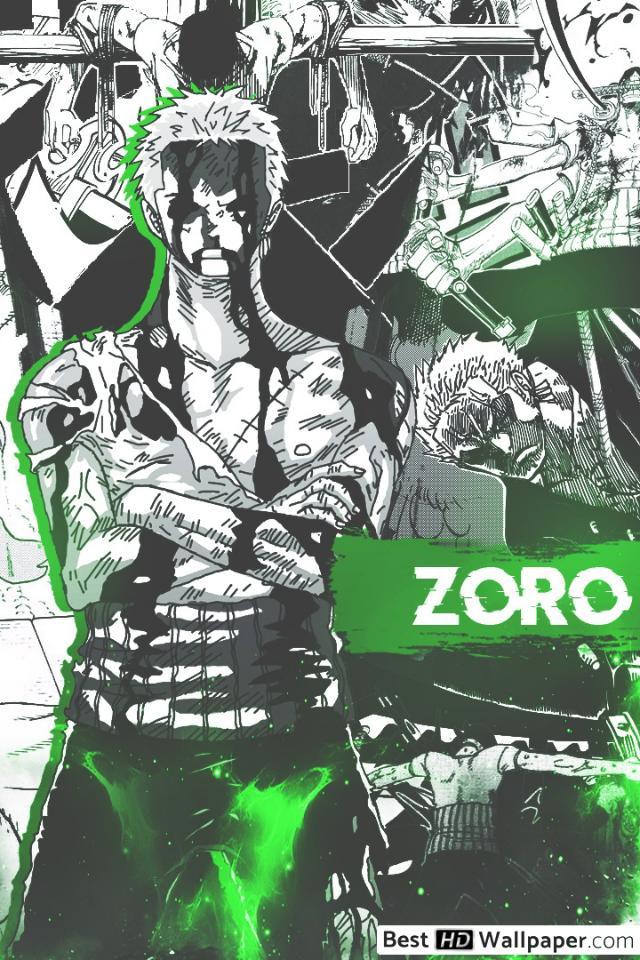 One Piece Iphone Wallpaper Zoro Manga 640x960 Wallpaper Teahub Io