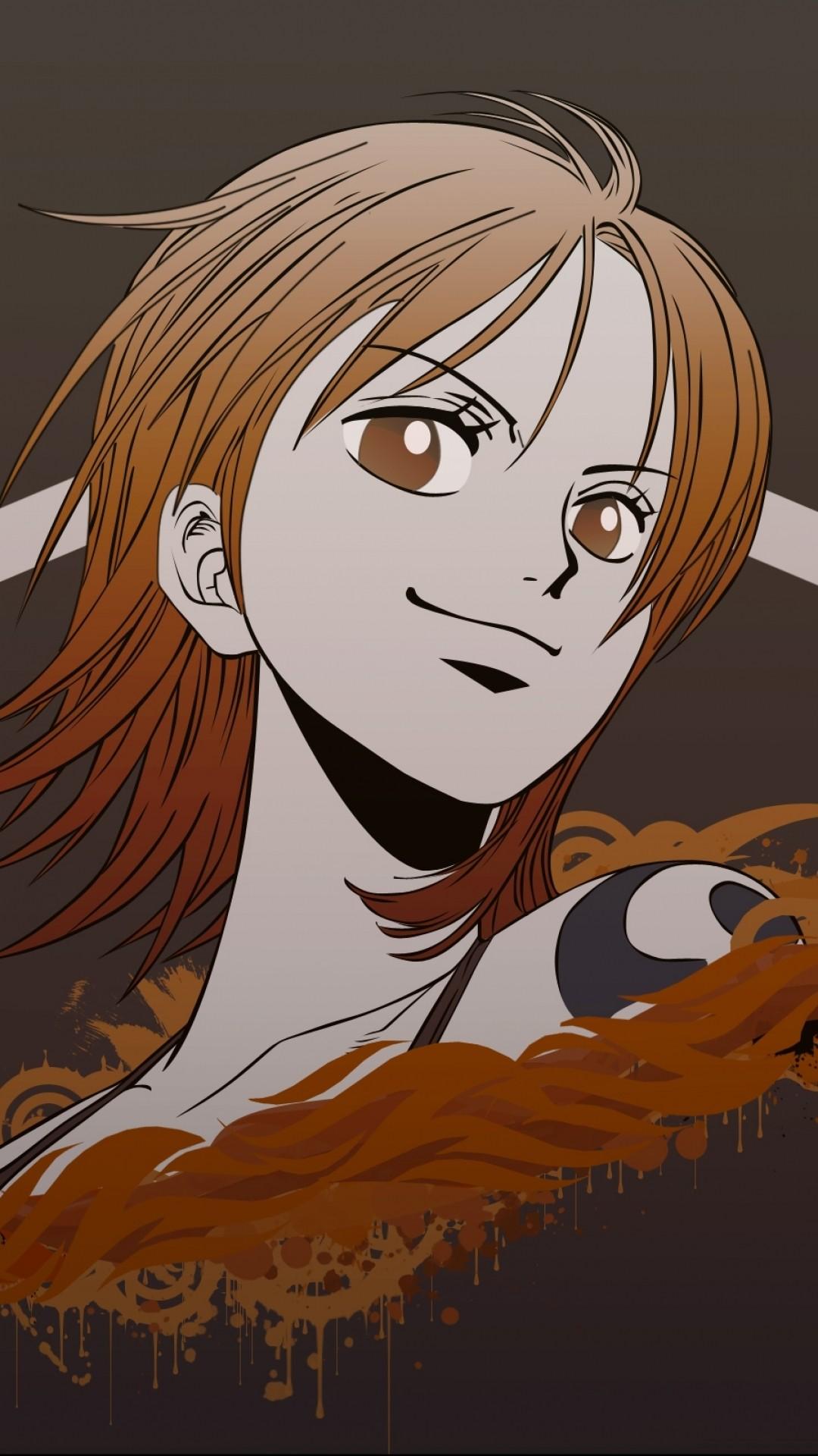 Anime One Piece Nami One Piece Nami Wallpaper Iphone 1080x1920 Wallpaper Teahub Io