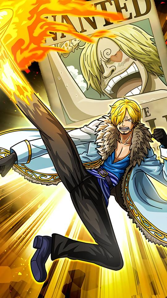 One Piece Sanji Wallpaper Phone 540x960 Wallpaper Teahub Io