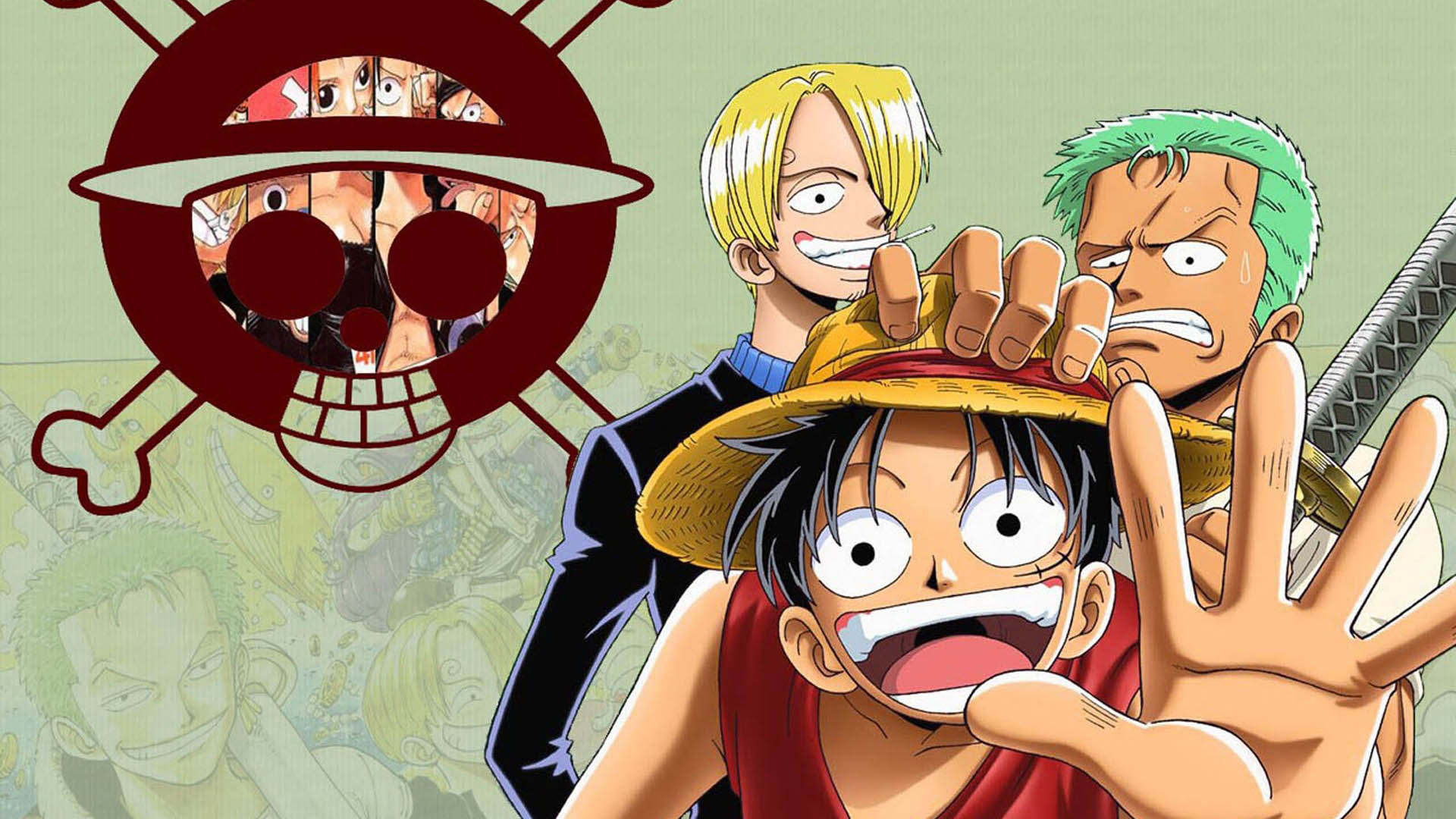 Download Wallpaper Laptop One Piece 1920x1080 Wallpaper Teahub Io