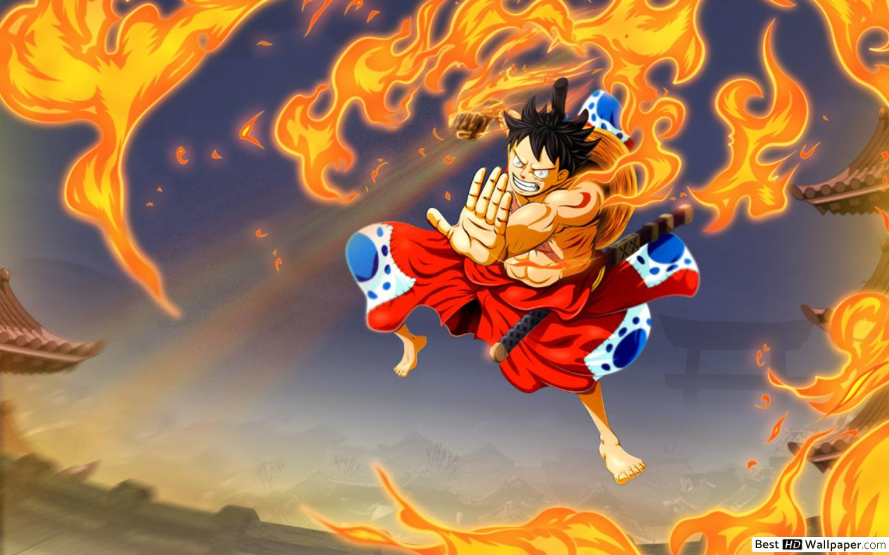 One Piece Luffy Wano 1280x800 Wallpaper Teahub Io