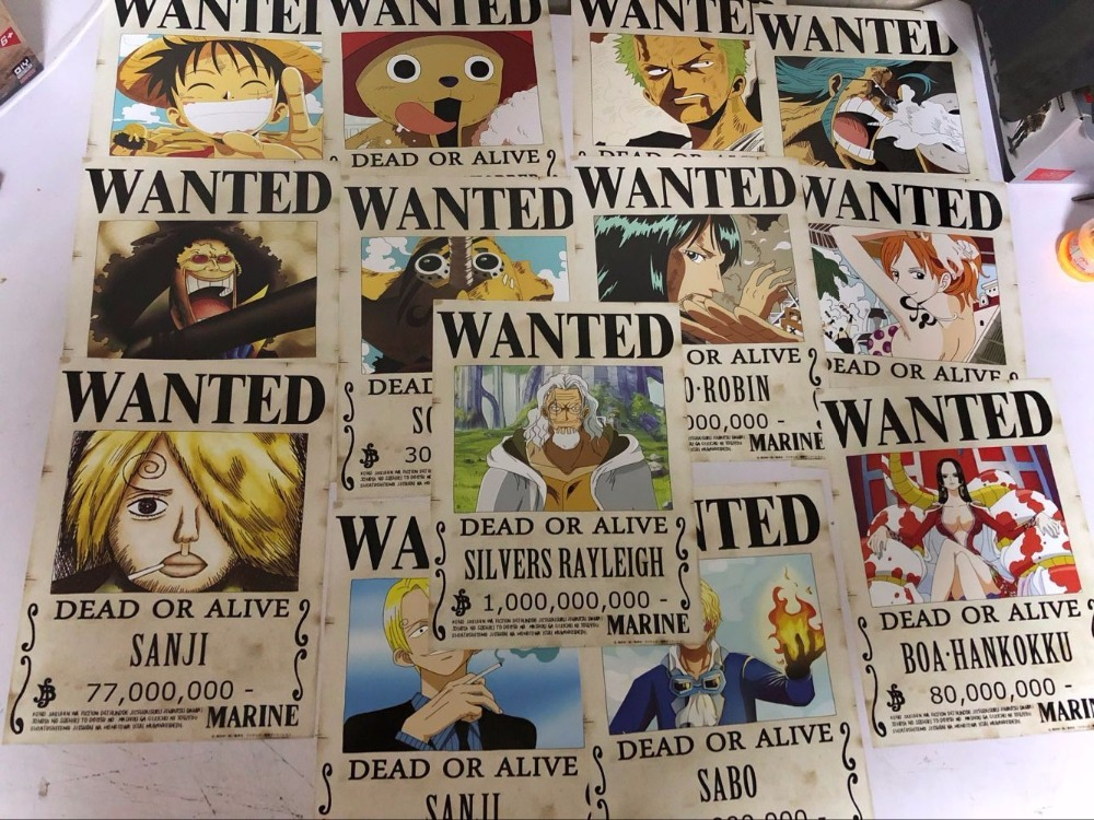 One Piece Wanted 1000x750 Wallpaper Teahub Io