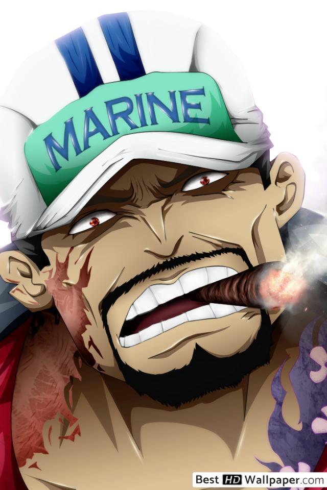 Akainu One Piece Deviantart 640x960 Wallpaper Teahub Io