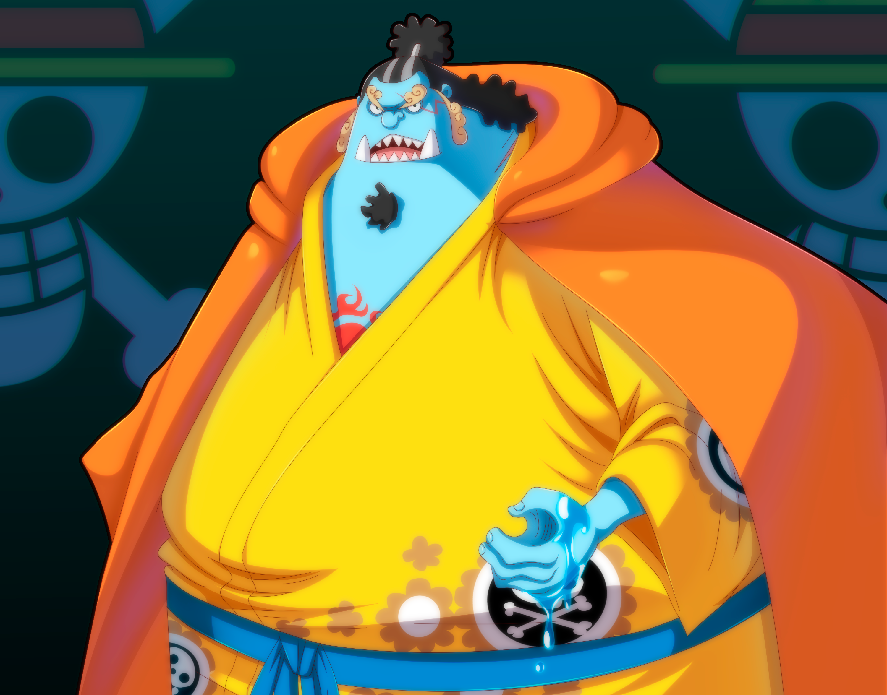 One Piece Jinbe 3000x2352 Wallpaper Teahub Io