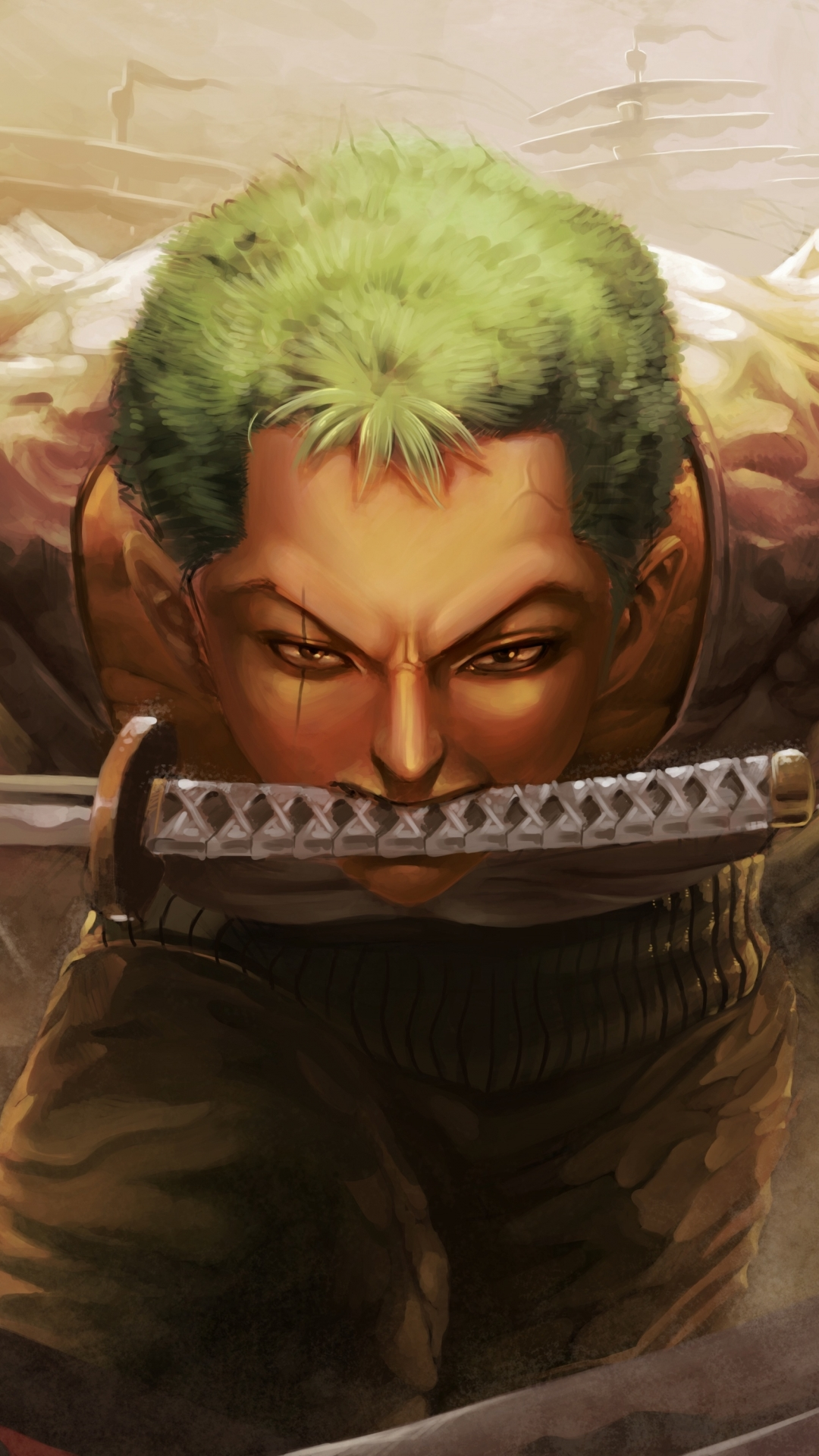 Roronoa Zoro Wallpaper Tablet 1080x1920 Wallpaper Teahub Io