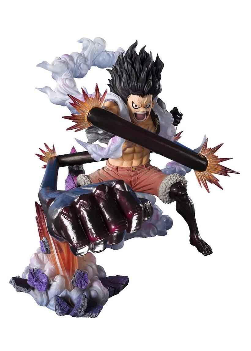 Figuarts Zero One Piece Monkey D Luffy Gear 4 Snake Man Figure 820x1148 Wallpaper Teahub Io
