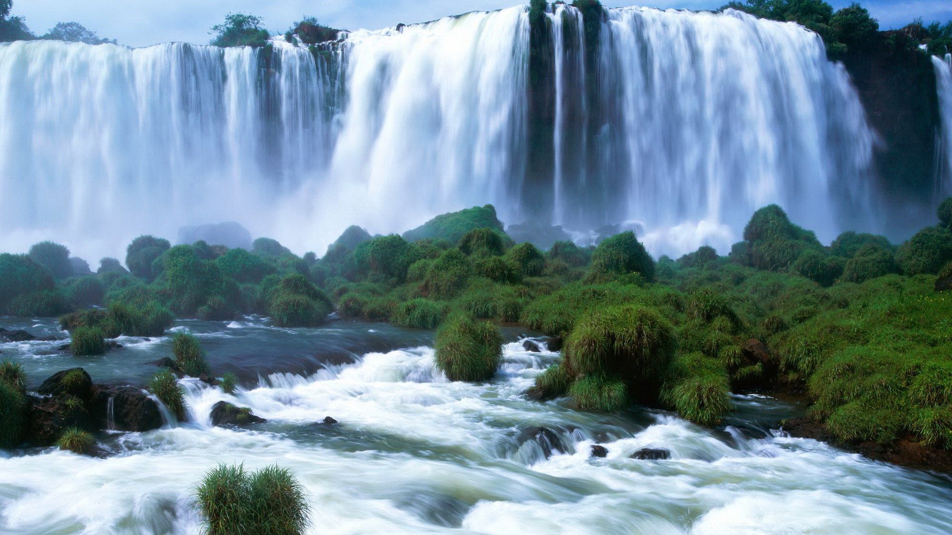 Pictures For Desktop Background Nature - Hd Wallpaper Of Waterfall - HD Wallpaper