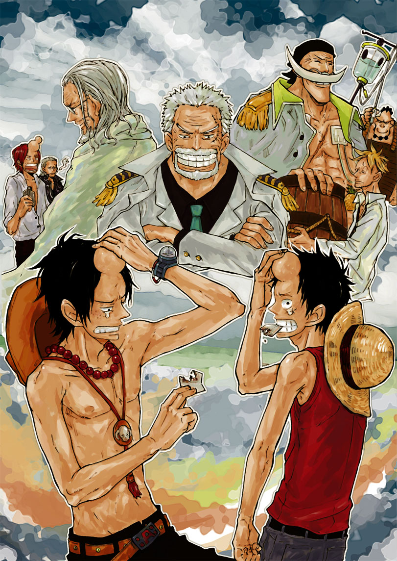 One Piece Shanks And Rayleigh 811x1144 Wallpaper Teahub Io