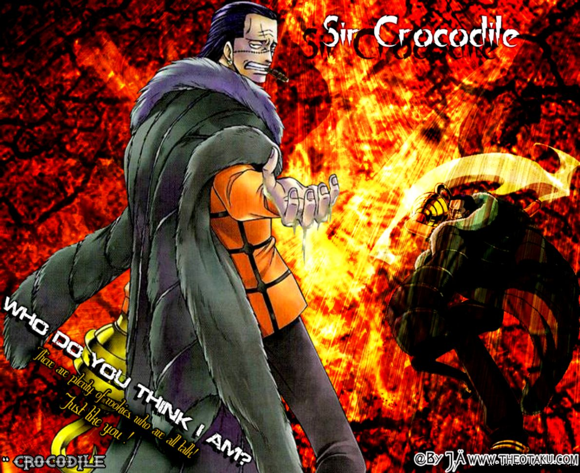 Sir Crocodile Wallpaper One Piece Anime Wallpaper - Cocodrile One Piece - HD Wallpaper