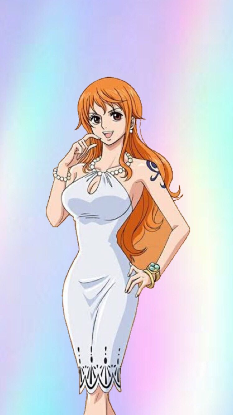 Nami - Anime Girl Sexy One Piece Dress - HD Wallpaper