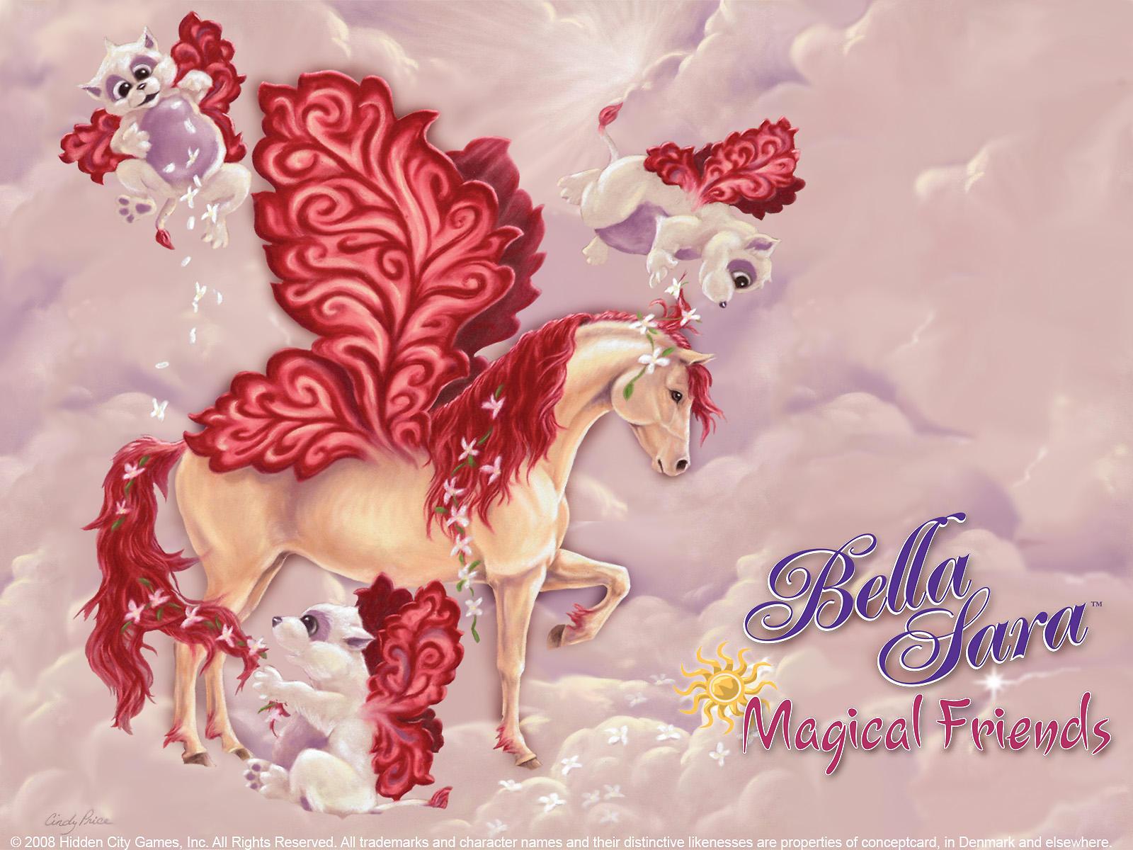 Bella Sara Bella Sara Magical Horse 1600x1200 Wallpaper Teahub Io