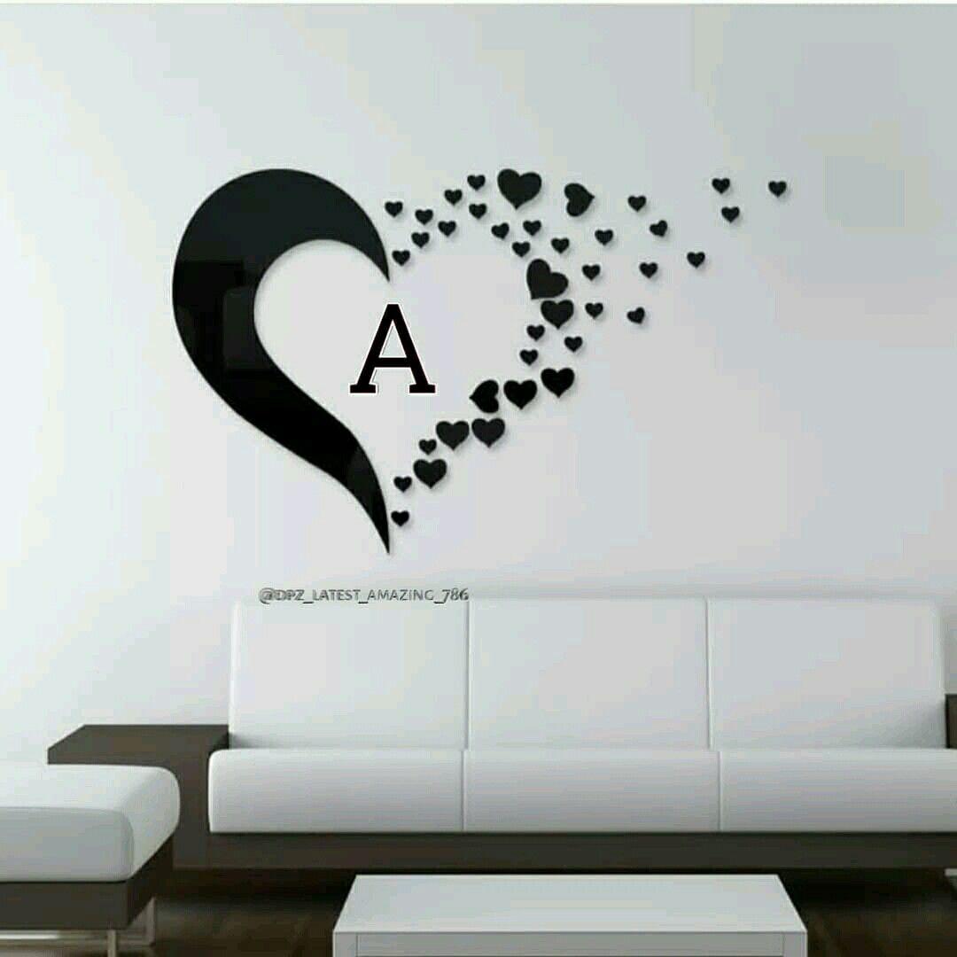 Love A Alphabet Dpz - HD Wallpaper