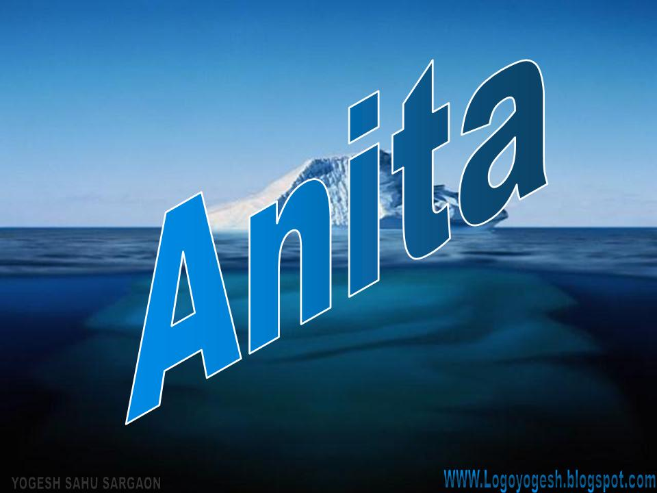 Anshu Name Wallpaper - Anita 3d Name