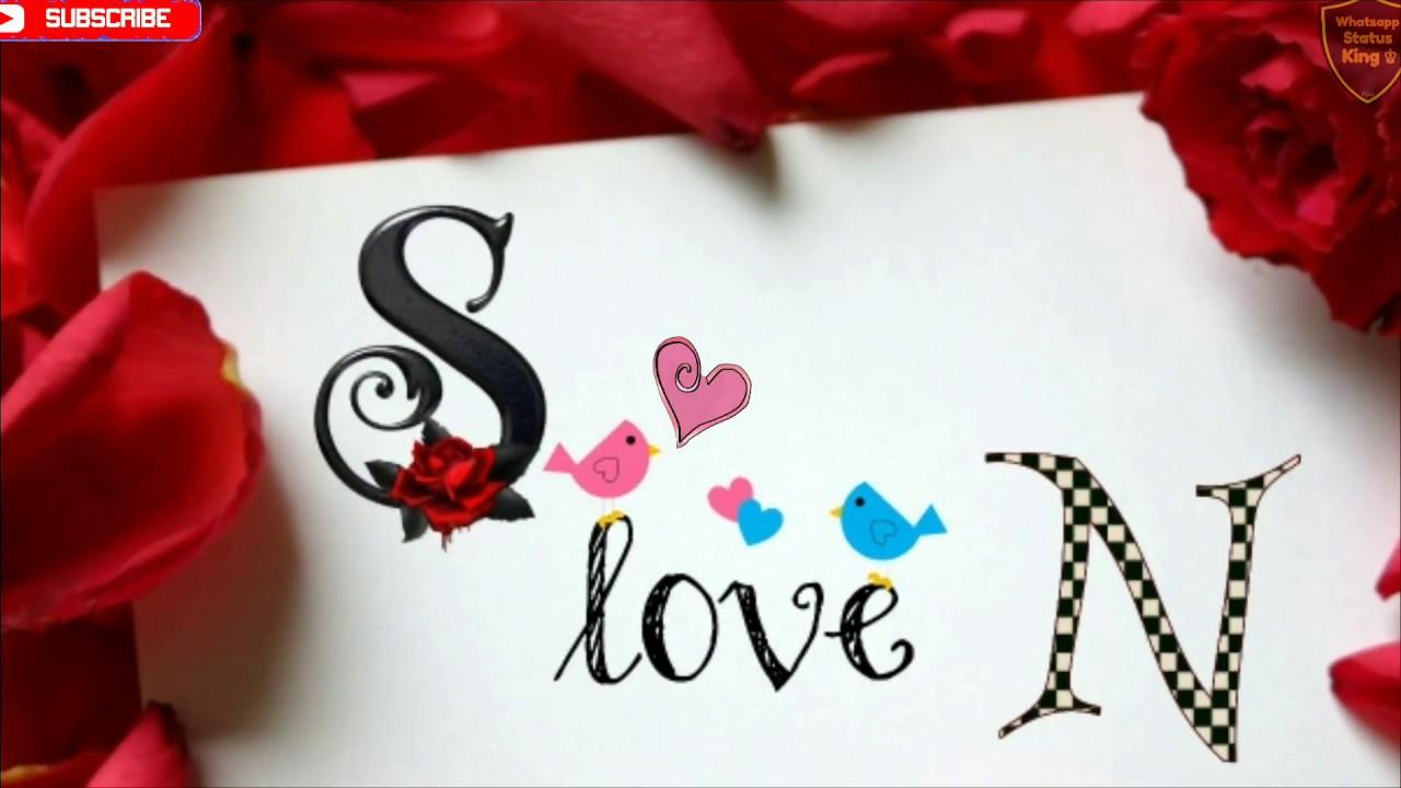 S Love N Name - HD Wallpaper