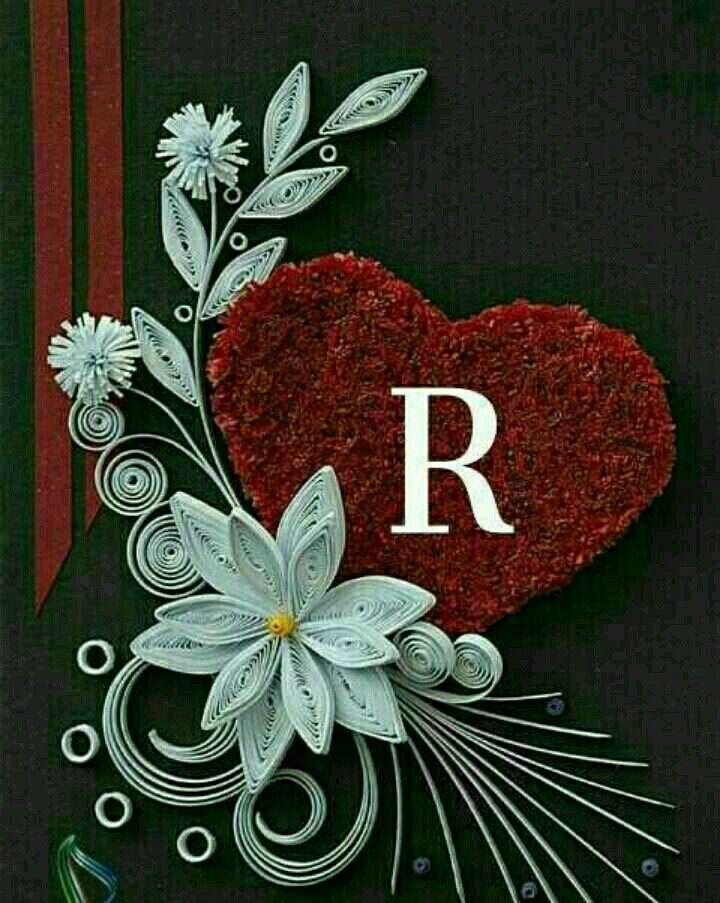 R Love A Name - HD Wallpaper