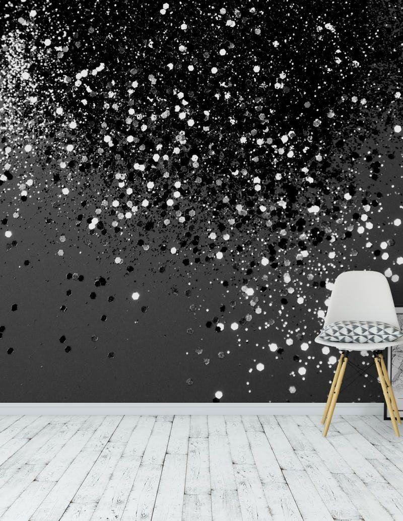 Dark Grey Glitter Wall 800x1035 Wallpaper Teahub Io
