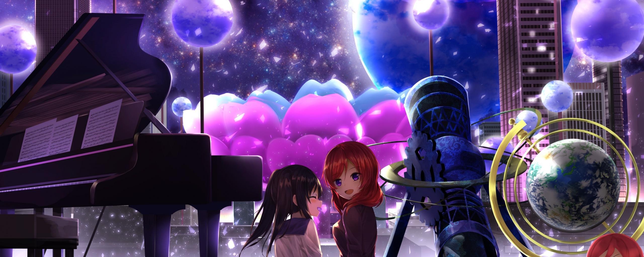 Maki Nishikino, Nico Yazawa, Love Live , Anime Girls, - Love Live Iphone Background - HD Wallpaper