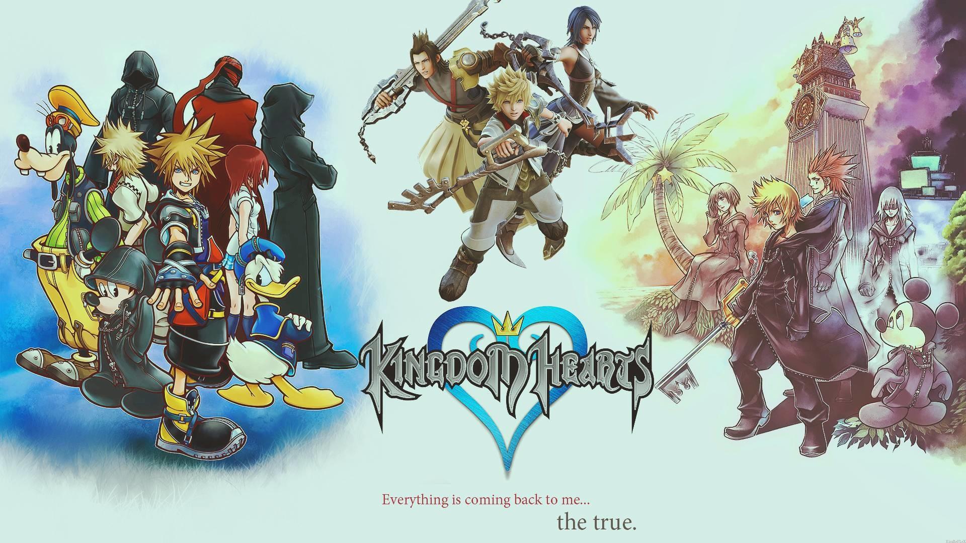 Kingdom Hearts Wallpaper Hd - Kingdom Hearts 358 2 Days Title Screen - HD Wallpaper