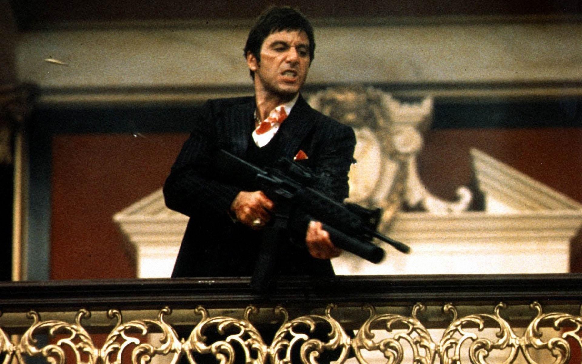 Scarface Hd Al Pacino - HD Wallpaper