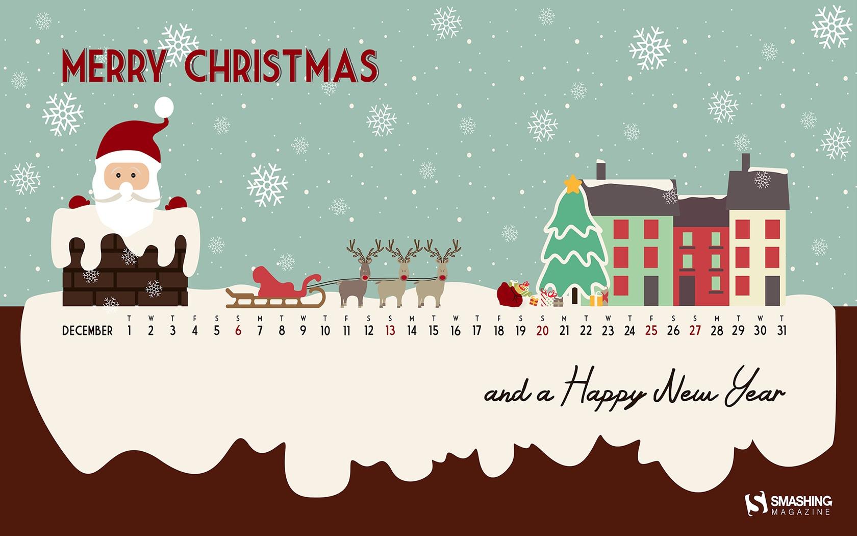 Month Calendar Christmas Desktop Wallpaper - Christmas Desktop Wallpaper Calendar - HD Wallpaper