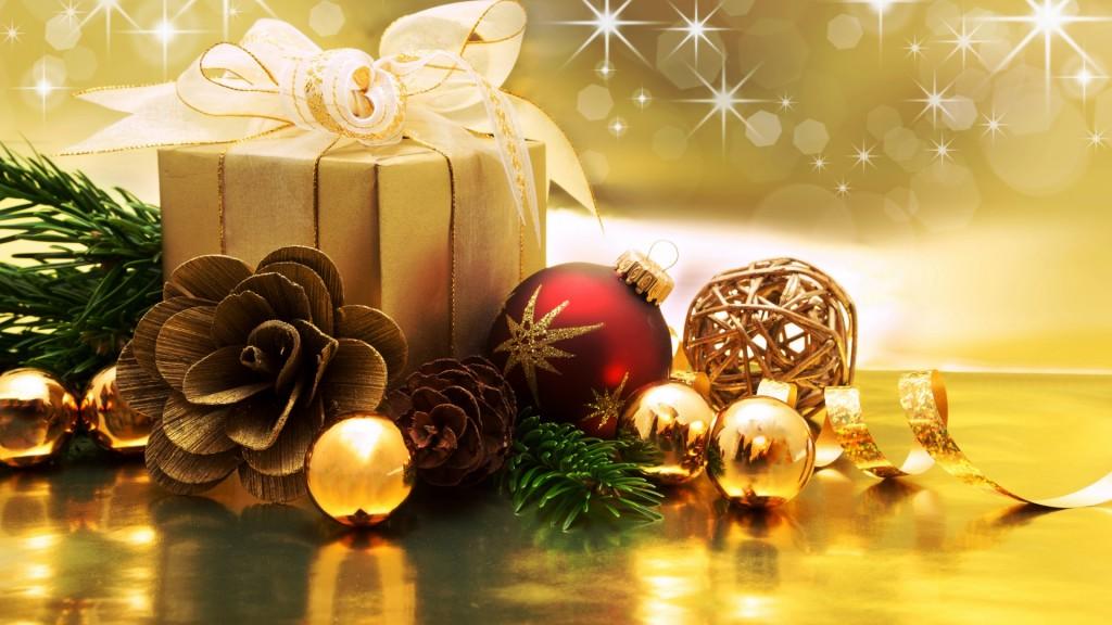 Christmas Present Wallpaper - Desktop Background Christmas Themes - HD Wallpaper