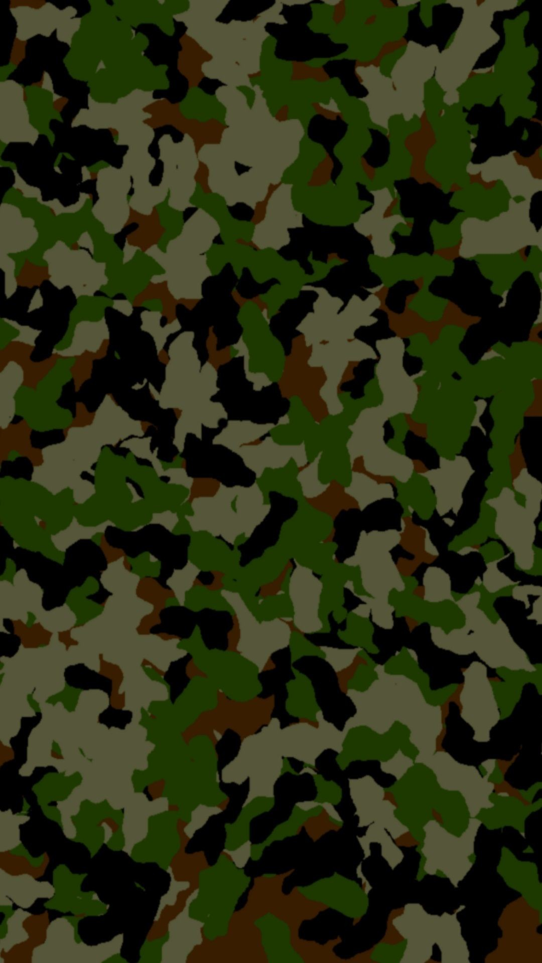 1080x1920, Camouflage Wallpaper For Iphone Or Android - Camo Print - HD Wallpaper