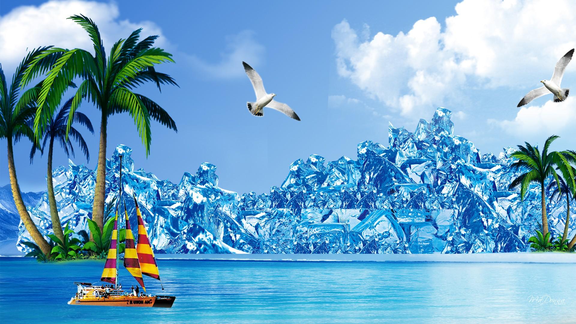 Summer Nature Desktop Backgrounds - HD Wallpaper