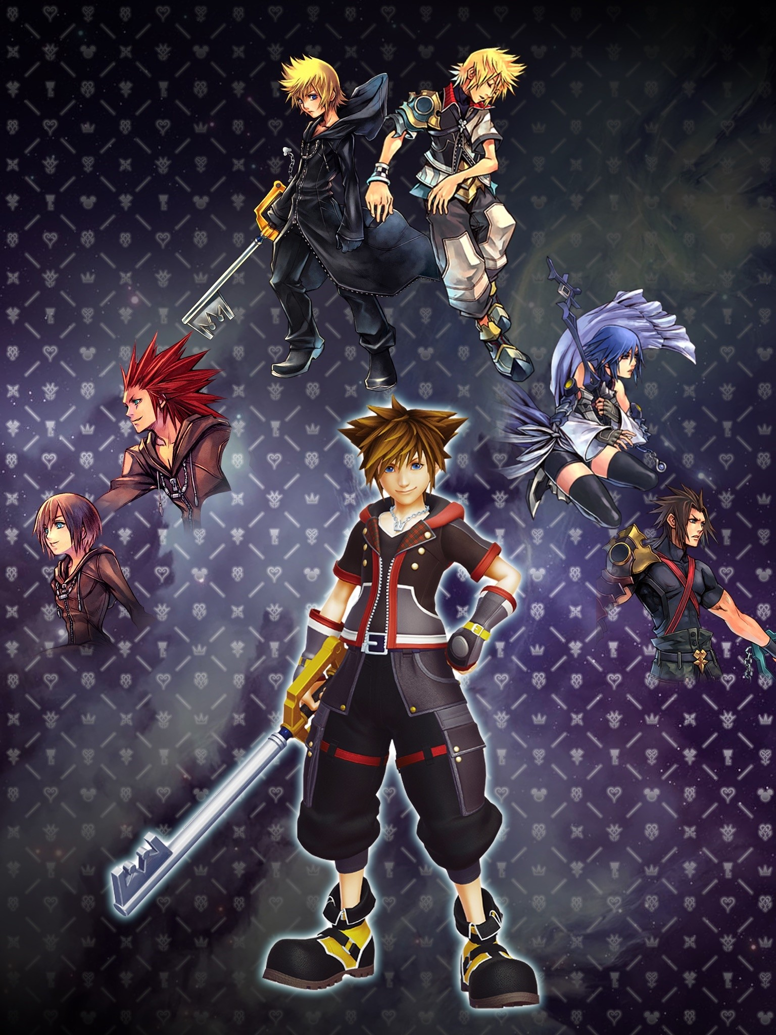 Sfondi Kingdom Hearts 3 1536x2048 Wallpaper Teahub Io