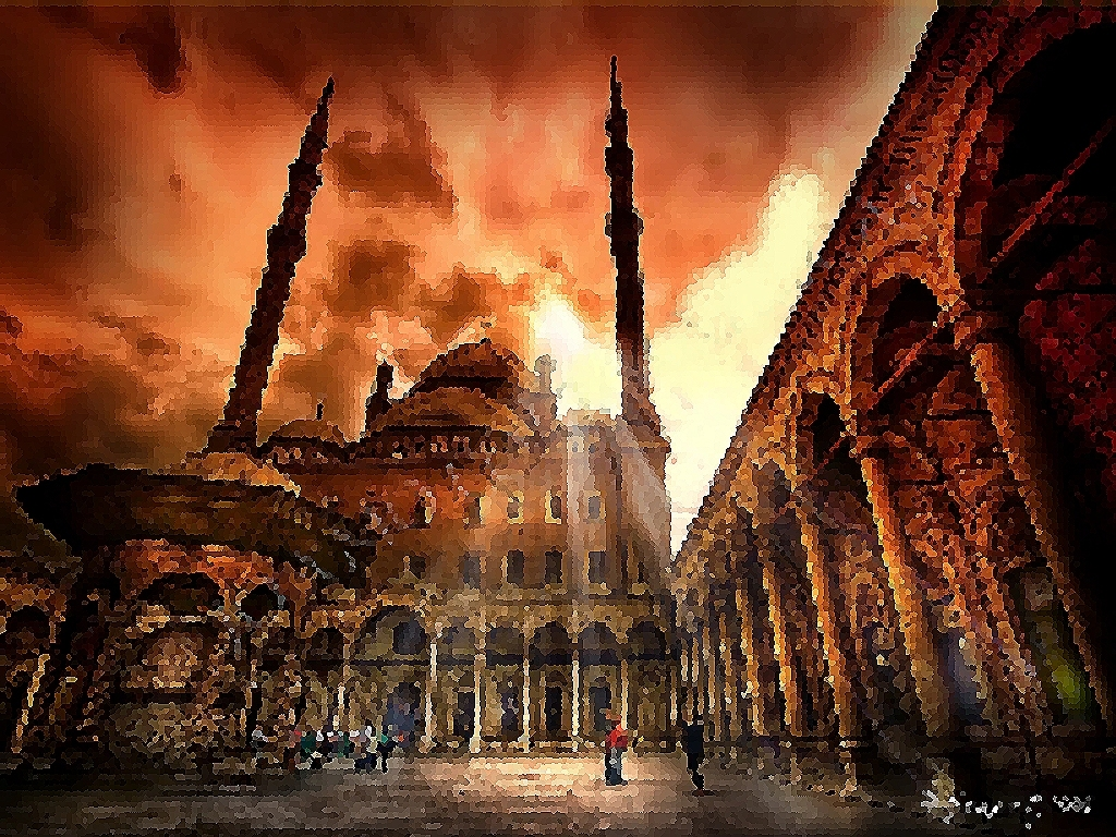 Muslim Wallpaper - Islamic Egypt - HD Wallpaper