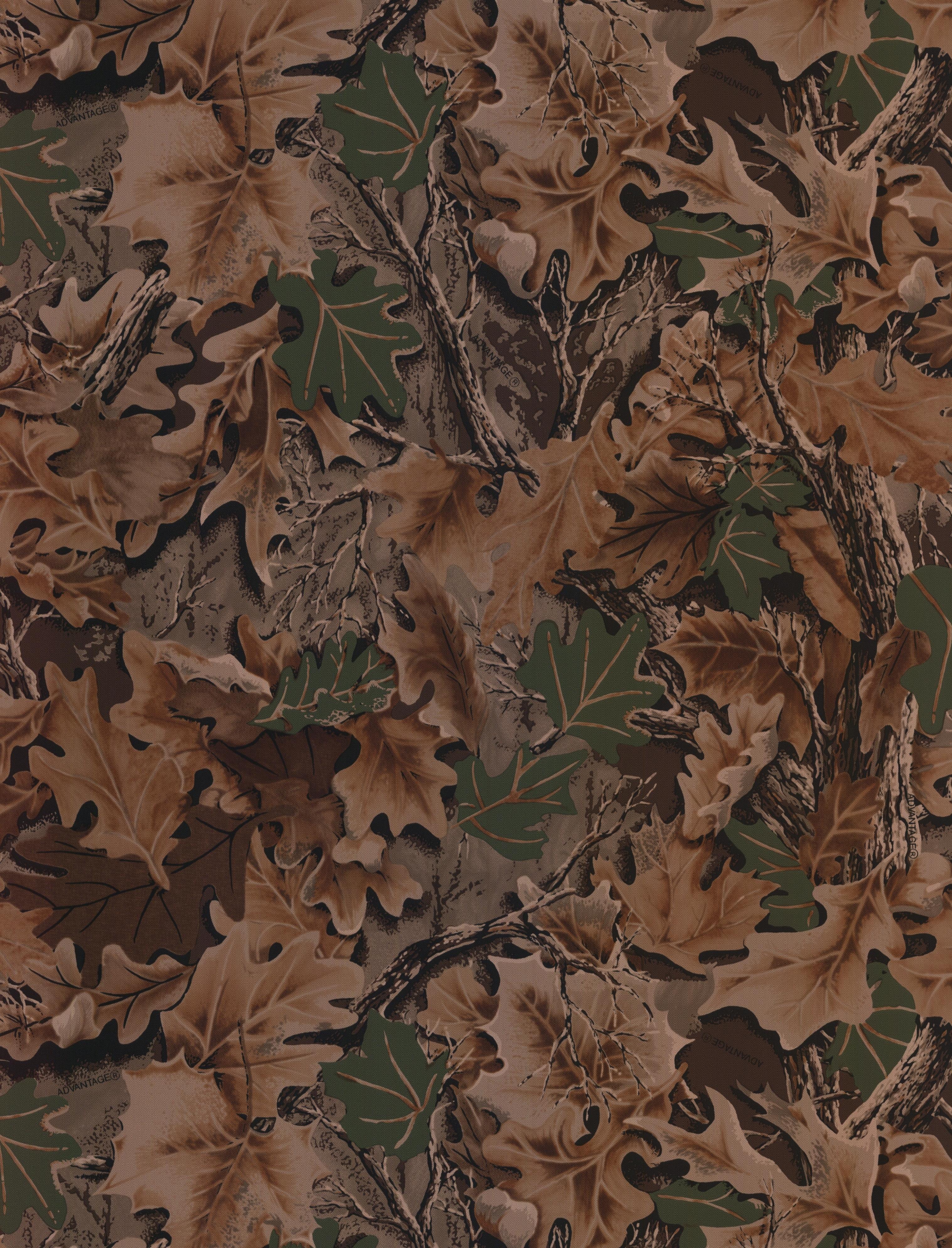 Leaf Camo Background - HD Wallpaper