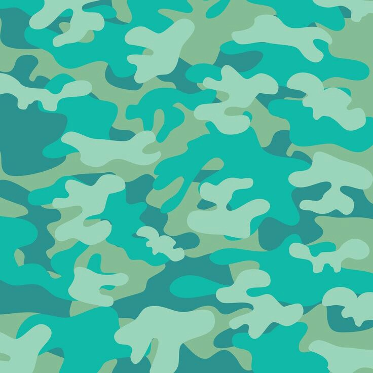 Wallpaper, Background, And Camouflage Image - Camo Green Blue Background - HD Wallpaper