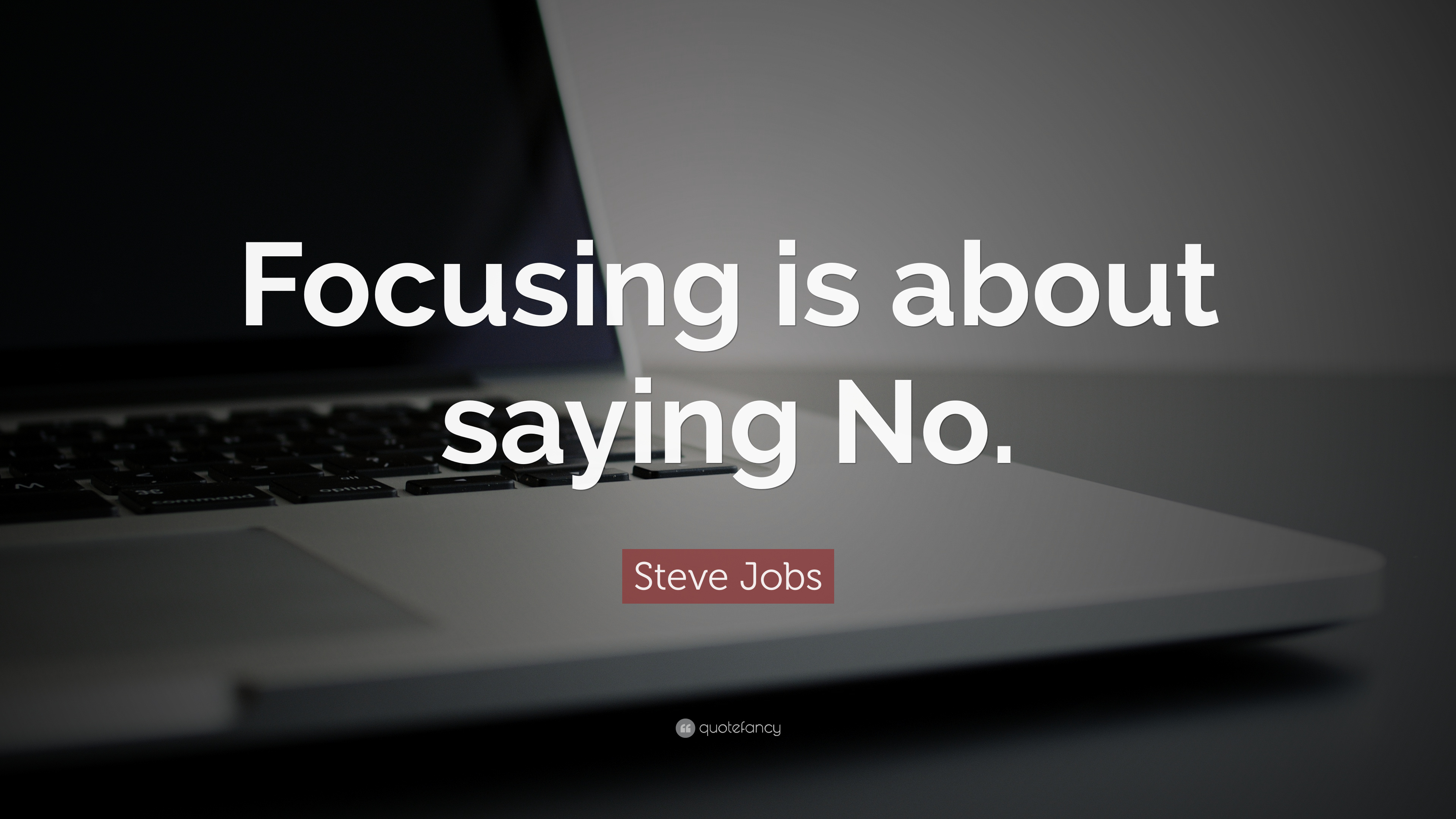 Steve Jobs Quote - Quote Hd Wallpaper For Laptop Full Screen - HD Wallpaper
