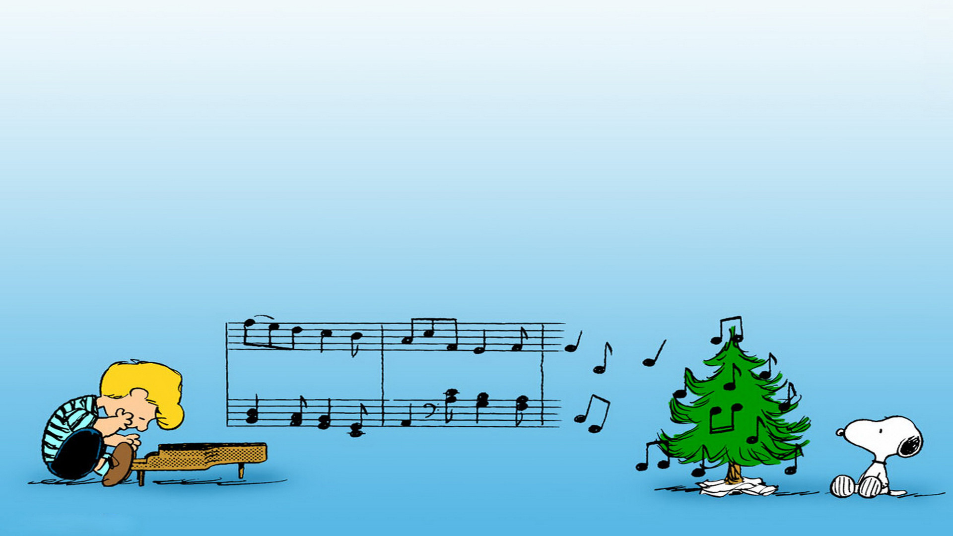 Snoopy Backgrounds - Charlie Brown Christmas Facebook Cover - HD Wallpaper