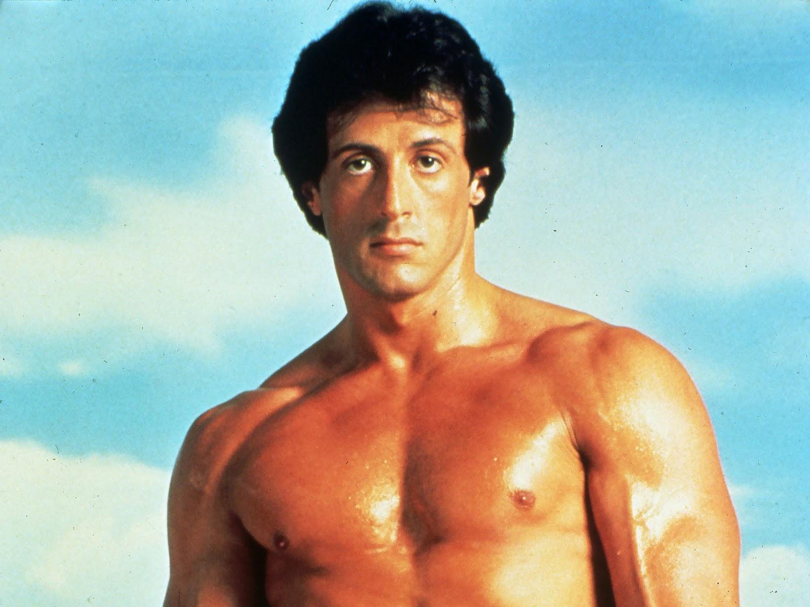 Young sylvester photos stallone Sylvester Stallone