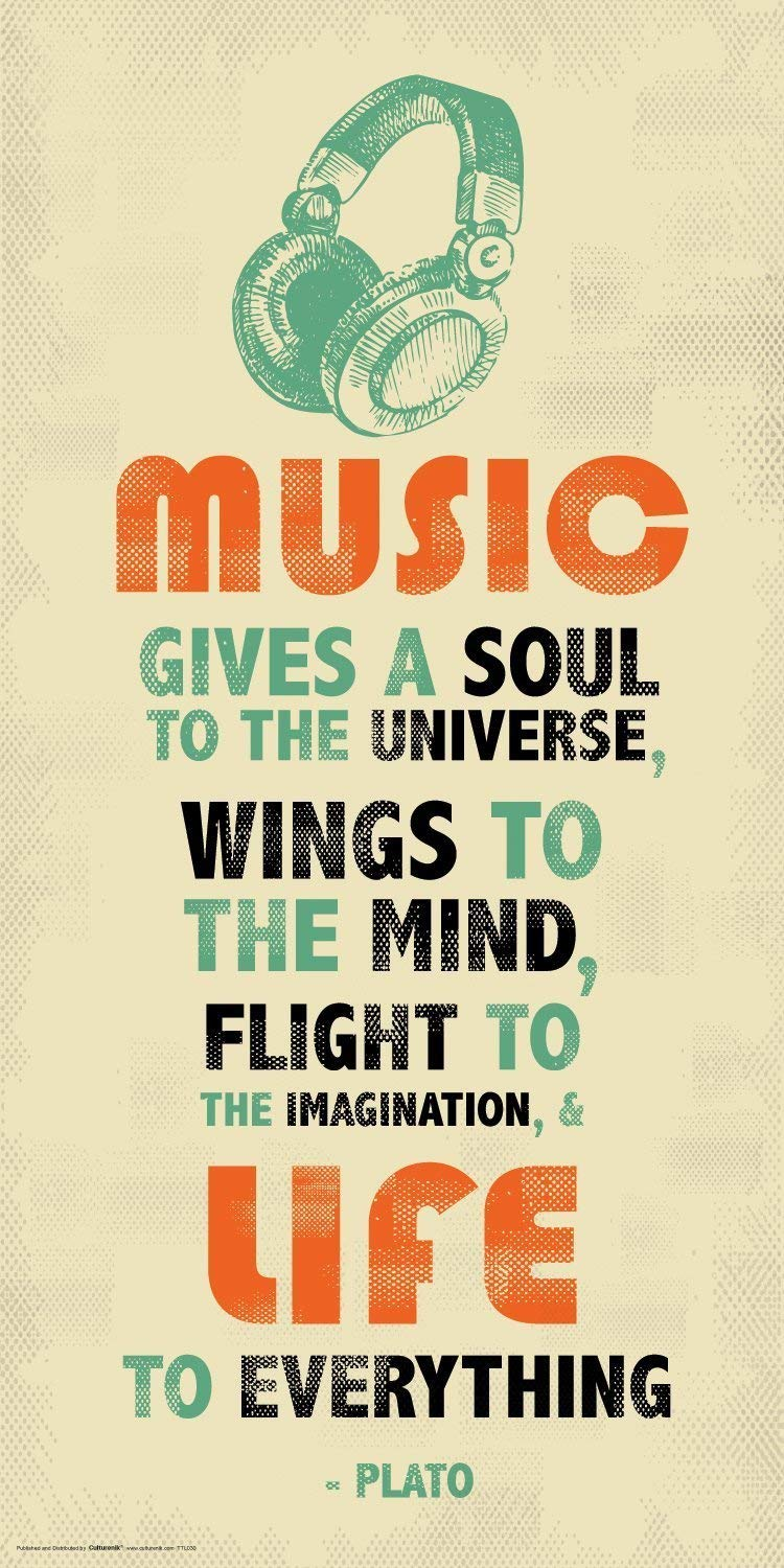 Music Quote - HD Wallpaper