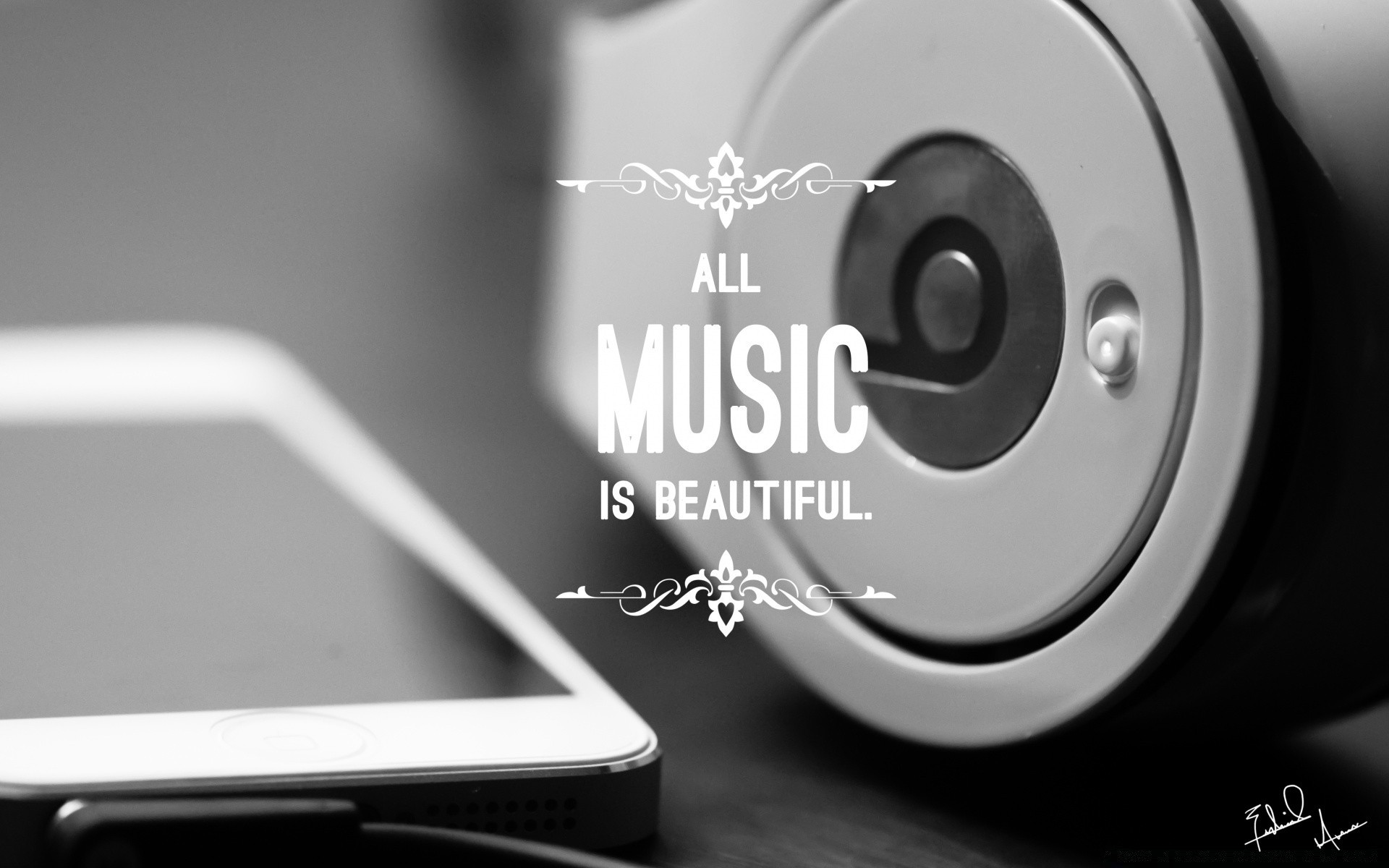 Black And White Technology Business Connection Electronics - Music Quotes Facebook Covers - HD Wallpaper