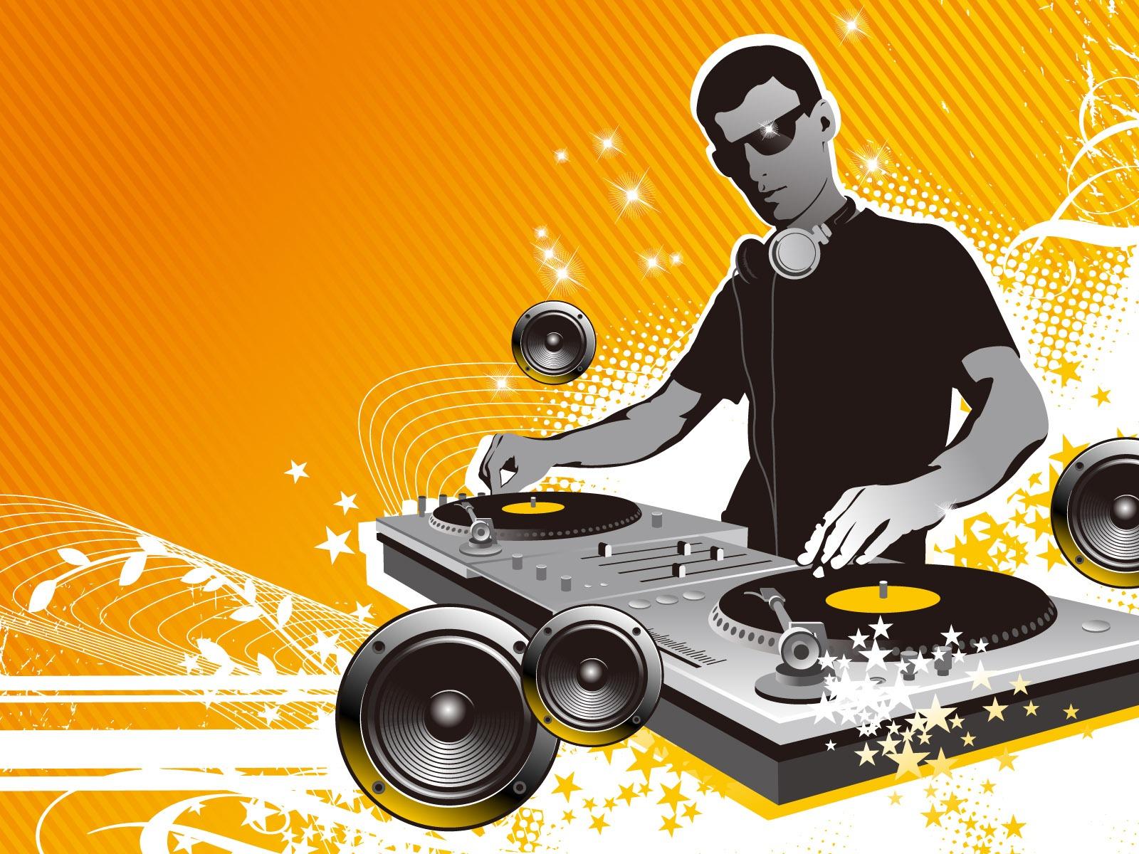 Club Music Life - Dj Mixing Wallpaper Hd - HD Wallpaper