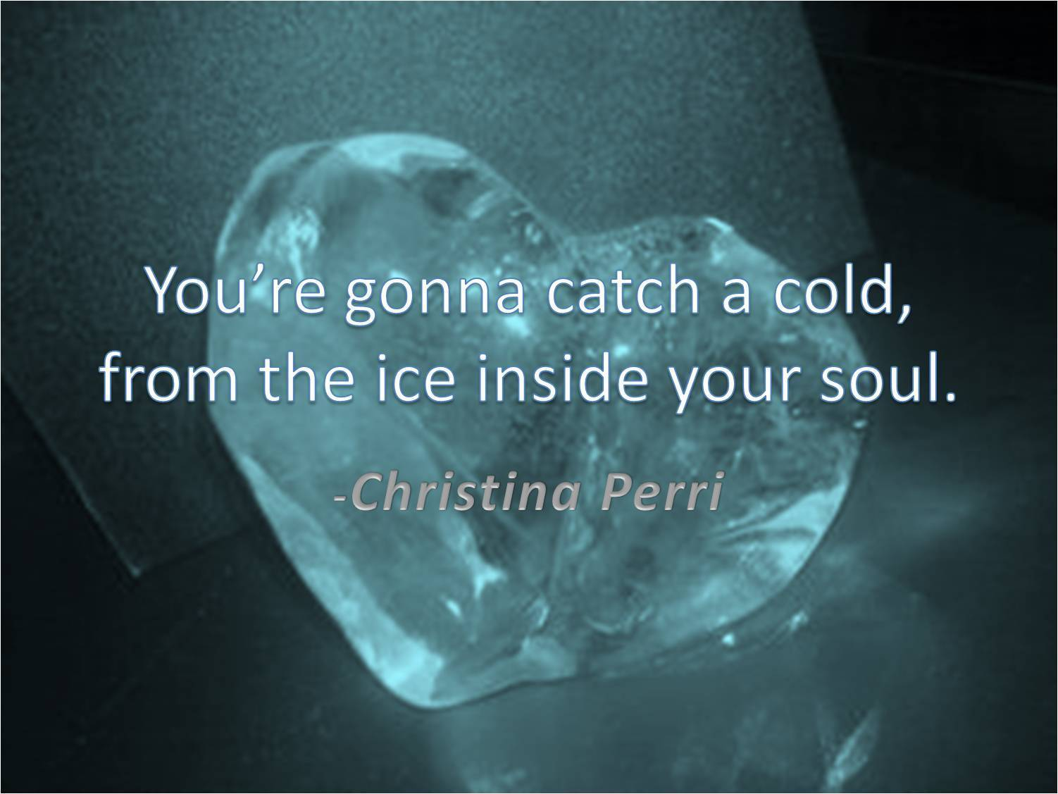 Music Quotes - You So Cold Quotes - HD Wallpaper