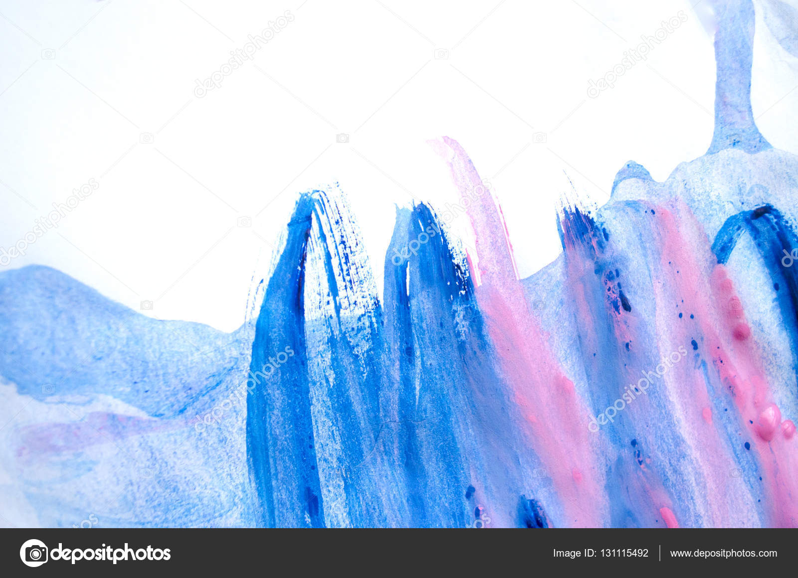 Abstract Painting Background Design - HD Wallpaper